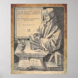 Erasmus Of Rotterdam Albrecht Durer Poster Art