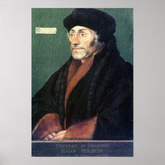 Erasmus of Rotterdam Poster