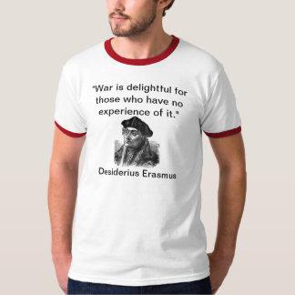 Erasmus quote, English front & Latin back T-Shirt