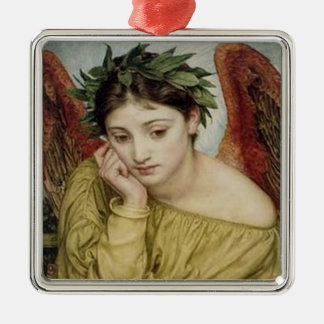 """Erato, Muse of Lyric Poetry"" Metal Ornament"