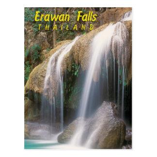 Erawan Falls, Thailand Postcard