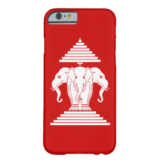 Erawan Three Headed Elephant Lao / Laos Flag Barely There iPhone 6 Case