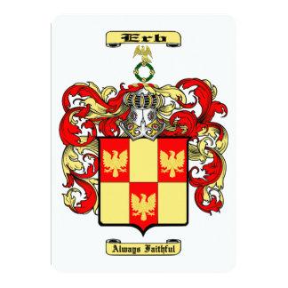 Erb Card