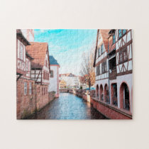 Erbach Odenwald Germany. Jigsaw Puzzle