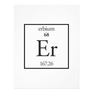 Erbium Flyer Design