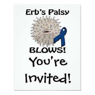 Erbs Palsy Blows Awareness Design Announcement