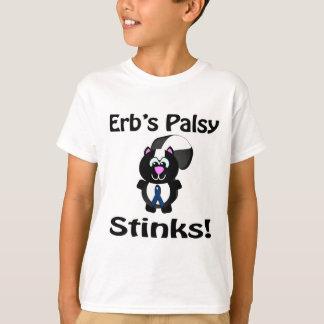 Erbs Palsy Stinks Skunk Awareness Design T-Shirt