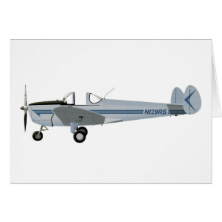 Erco Ercoupe Greeting Card