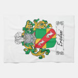 Ercolani Family Crest Hand Towel