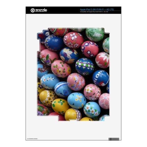 eReader de Pascua y piel felices de la tableta Pegatina Skin Para iPad 3