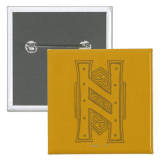 Erebor - H Symbol Pinback Button