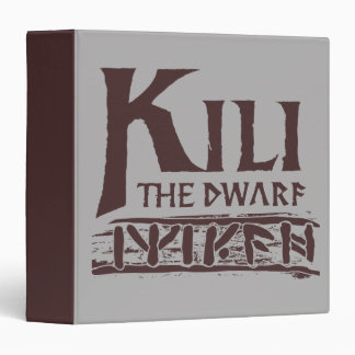 Erebor - Kili Name 3 Ring Binder