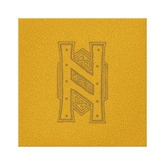 Erebor - símbolo de H Lona Envuelta Para Galerías