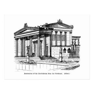 Erechtheum Reconstruction Postcard