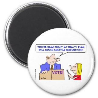 erectile disfunction politician health plan magnet