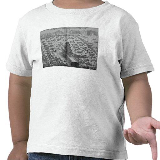 Erecting the Ancient Egyptian Obelisk T Shirt