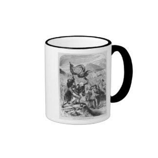 Erecting the Standard of the Young Pretender Ringer Coffee Mug