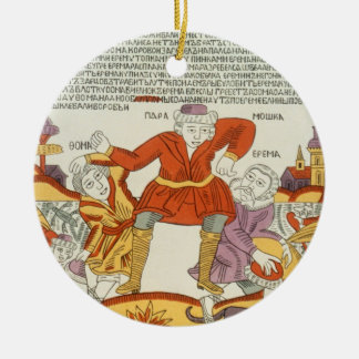 Erema and Thomas - the Song of Two Unhappy Brother Ceramic Ornament