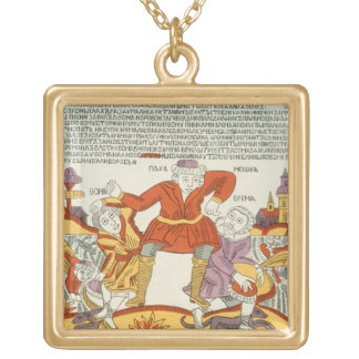 Erema and Thomas - the Song of Two Unhappy Brother Necklace