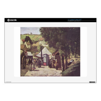 """Eremitage, Pontoise by Paul Cezanne Decals For 15"""" Laptops"""