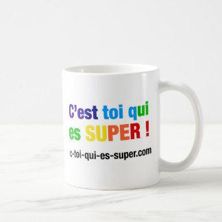 ¡Eres tú quien es super! Shirts y Accesorios Tazas De Café