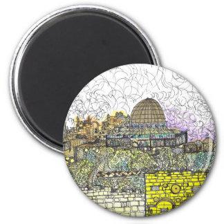 Eretz Tzion 2 Inch Round Magnet