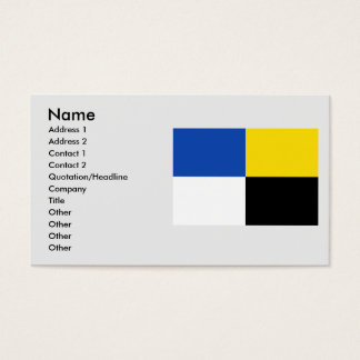 Erezee, Belgium Business Card