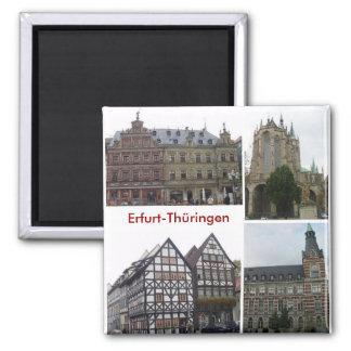 Erfurt 2 Inch Square Magnet
