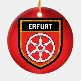 Erfurt Flag Ceramic Ornament