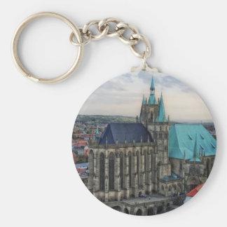 Erfurt, Germany Basic Round Button Keychain