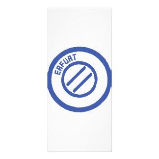 Erfurt Rack Card Template