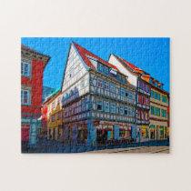 Erfurt Thuringia Germany. Jigsaw Puzzle
