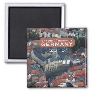 Erfurt, Thuringia Germany Magnet Change Year