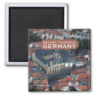 Erfurt, Thuringia Germany Photo Souvenir Magnet