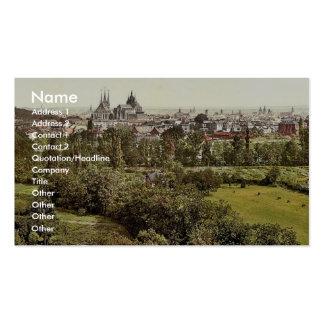 Erfurt, Thuringia, obra clásica Photochrom de Alem Tarjetas De Visita