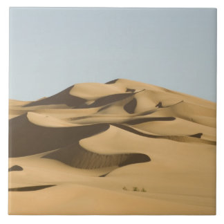 Erg Awbari, Sahara desert, Fezzan, Libya. 4 Ceramic Tile