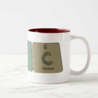 Eric  as Erbium Iodine Carbon Coffee Mugs