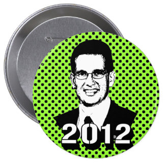 Eric Cantor 2012 4 Inch Round Button