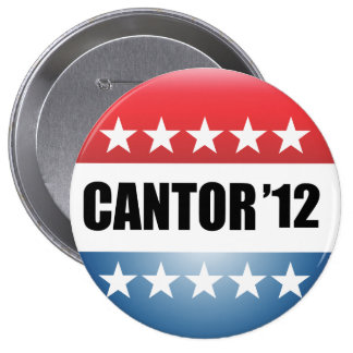 ERIC CANTOR 4 INCH ROUND BUTTON