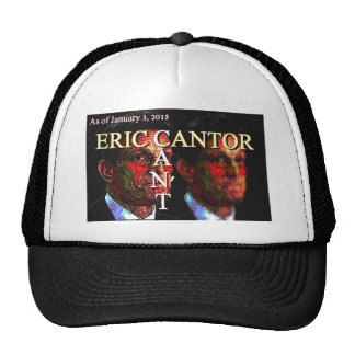 Eric Cantor Can't Trucker Hat