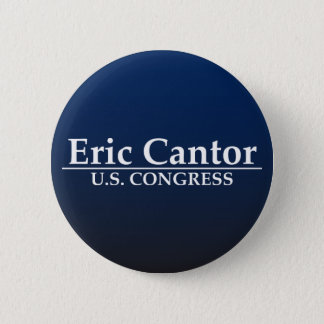 Eric Cantor U.S. Congress Button