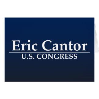 Eric Cantor U.S. Congress Greeting Card