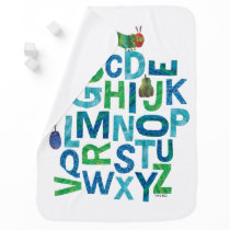 Eric Carle | Alphabet Caterpillar Letters Pattern Baby Blanket