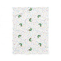 Eric Carle | Caterpillar and Dots Pattern Fleece Blanket