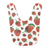 Eric Carle | Caterpillar and Strawberry Pattern Baby Bib