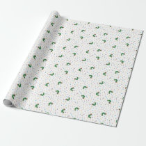 Eric Carle | Caterpillar & Dots Pattern Wrapping Paper