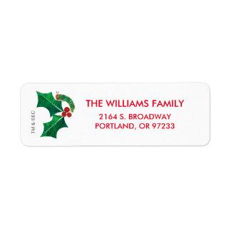 Eric Carle | Christmas Caterpillar Label