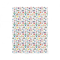 Eric Carle | Eric Carle Animals Pattern Fleece Blanket