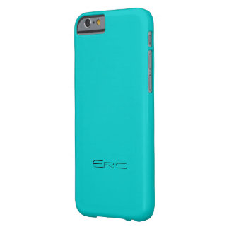 Eric Customized Blue iPhone cover