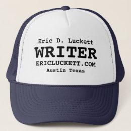 Eric D. Luckett WRITER Trucker Cap